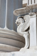 Detail. Parliament Building, Vienna