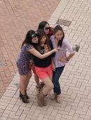 Hong Kong selfie