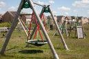 Lockdown playground, Milton Keynes