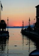 Bardolino Sunset Lake Garda