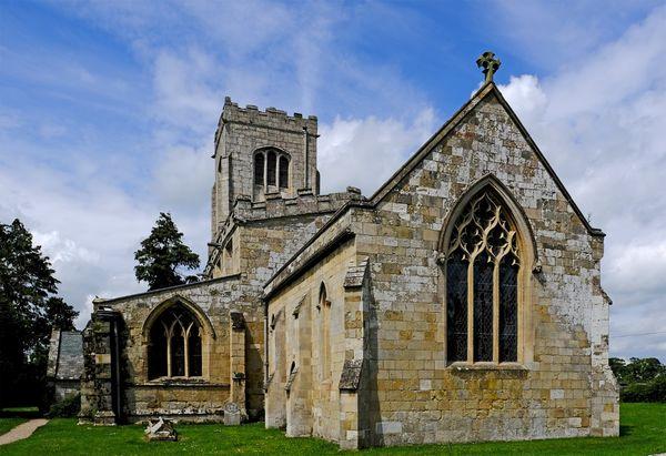 Church at Burton Agnes.