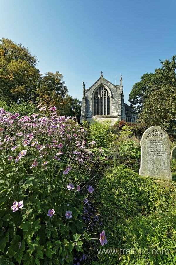 Across the  Churchyard