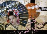 Geisha 50x35cm