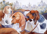 Hounds of Chiverny too 25x35cm