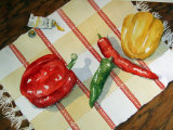 Peppers and Paint 27x37cm