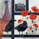 Rembrance at the Tower of London 45x45cm