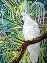 Sulphur Crested Cockatoo 30x45cm