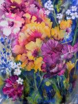 Summer Flowers 27x37cm