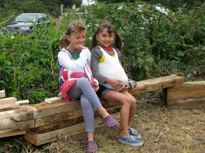 Nancy and Asha
