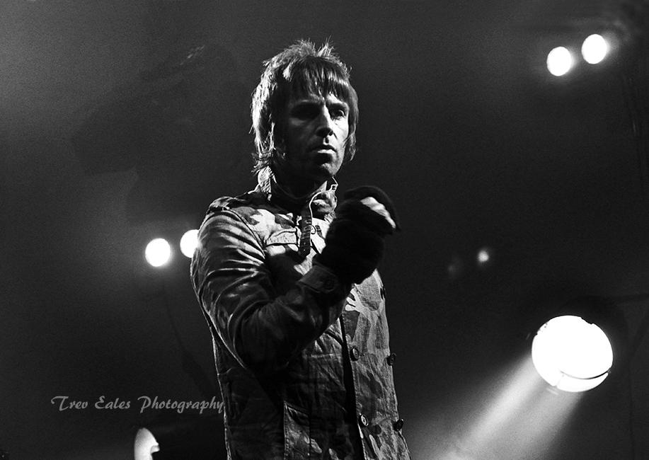 Liam Gallagher with Beady Eye.