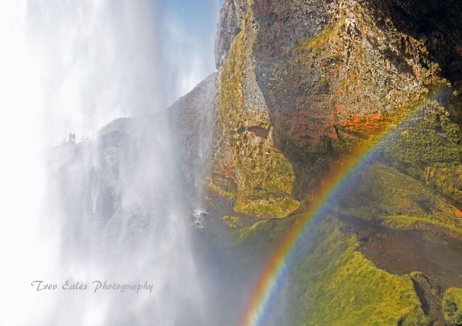 Close encounter: Seljandsfoss.