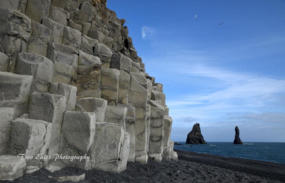 Basalt columns: Reynisfjara