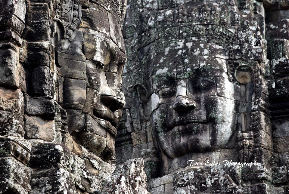 The faces of Bayon, Angkor Thom