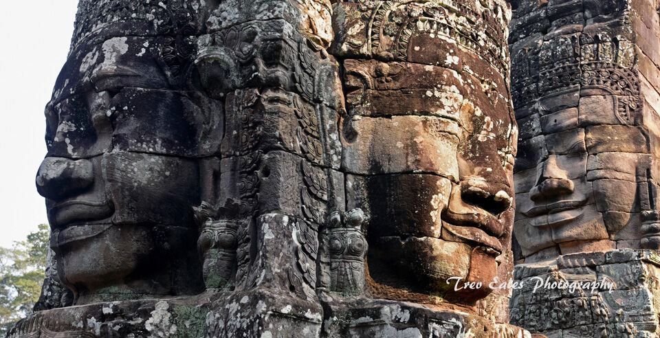 The faces of Bayon, Angkor Thom