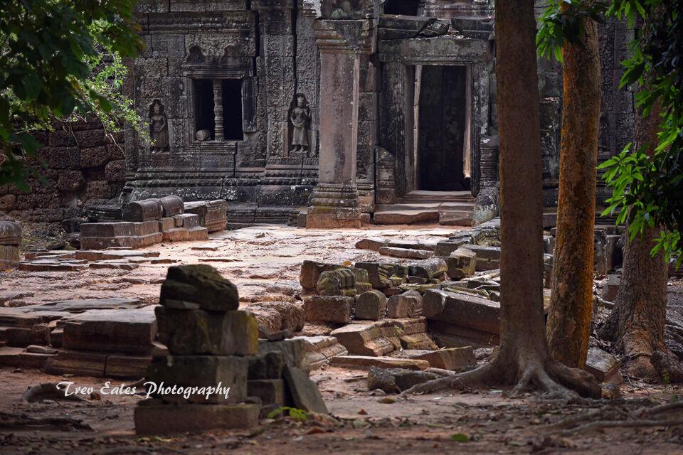 Prah Kahn entrance