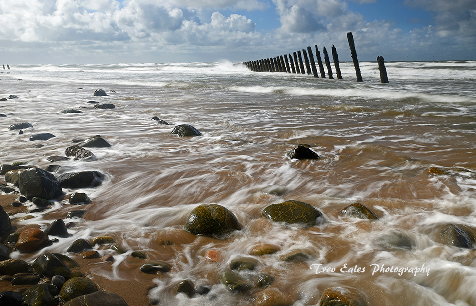 Incoming tide, South Walney