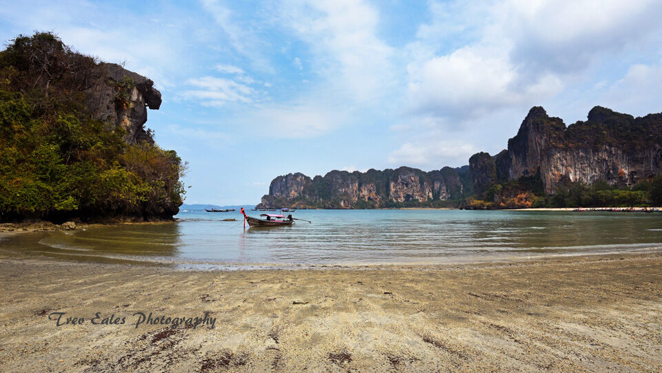 Before the crowds: Railay Beach