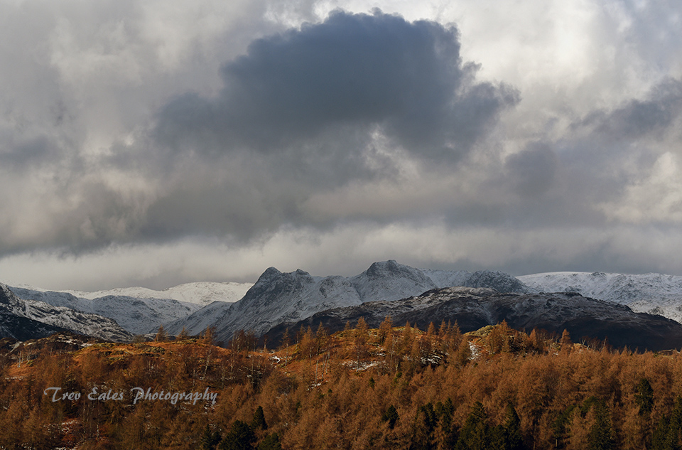 Storm over the Langdales