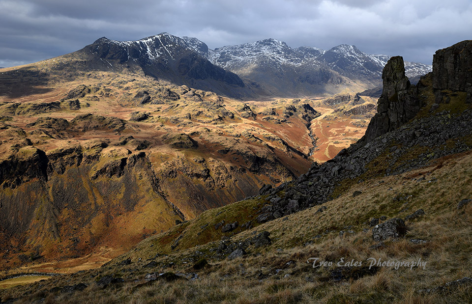 Eskdale Needle to the Scafells
