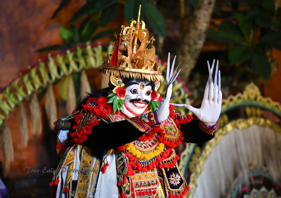 Barong dancer: Ubud Royal Palace.