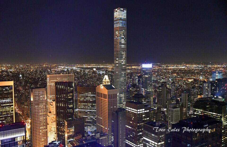 Central Park Tower from The Rockefeller Center