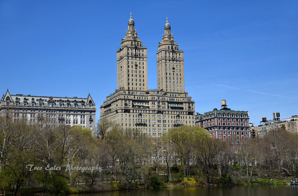 The San Remo Building from Central Park