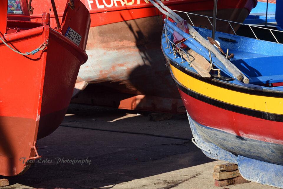 Fishermen's boats, Camara De Lobos harbour