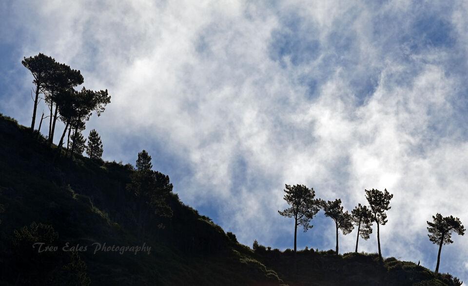 Evapaorating clouds, Curral Das Freiras