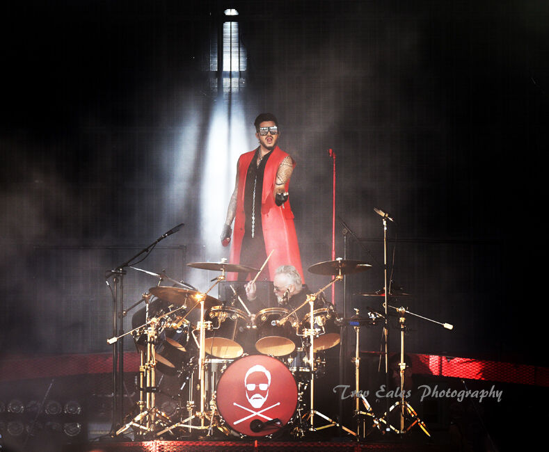 Adam Lambert and Roger Taylor. Queen and Adam Lambert.