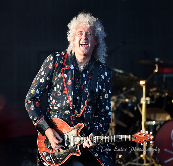 Brian May, Queen & Adam Lambert.