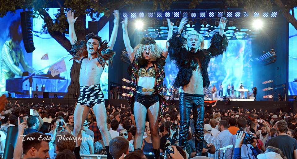 Arcade Fire Dancers