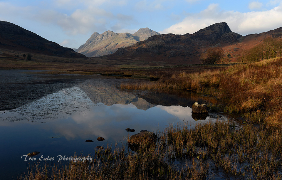 Blea Tarn and the Pikes