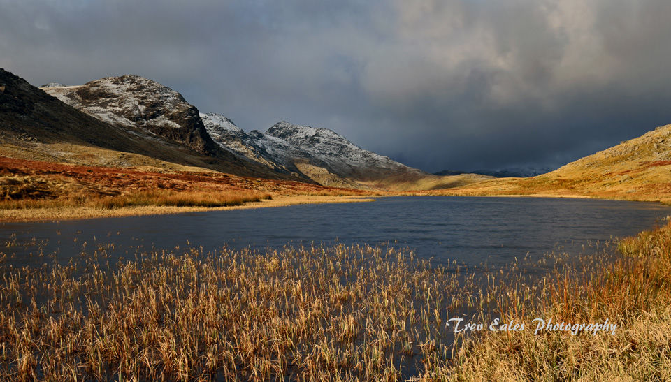 Incoming storm: Red Tarn