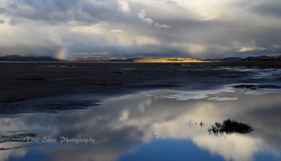 Changing weather, Duddon Estuary