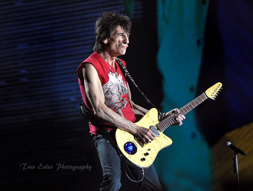 Ronnie Wood, The Rolling Stones.