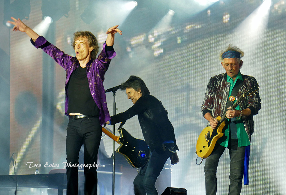 Mick Jagger, Keith Richards, Ronnie Wood, The Rolling Stones.
