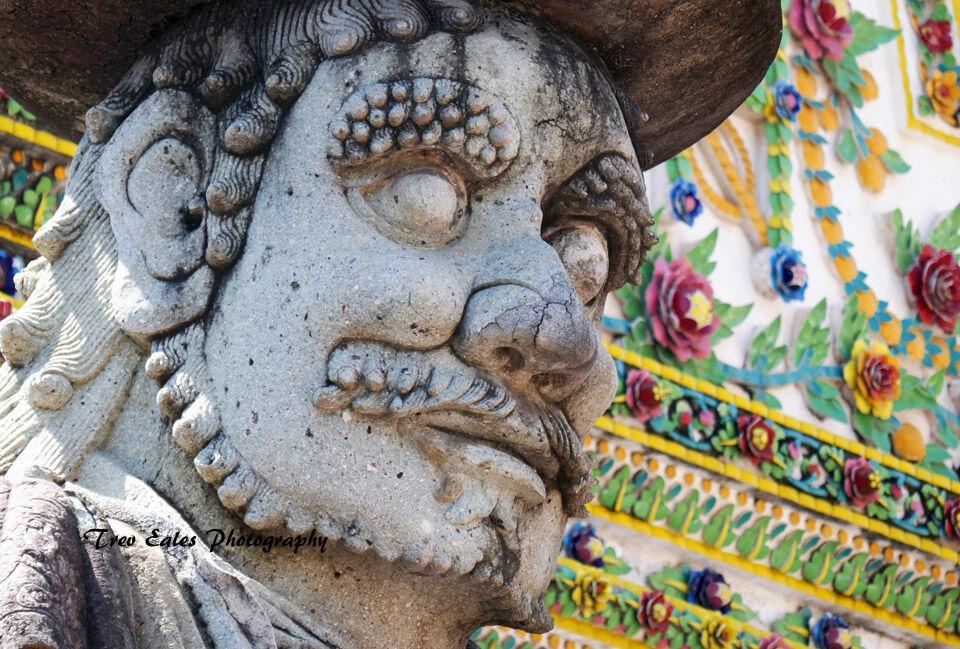 Statue, Wat Phra