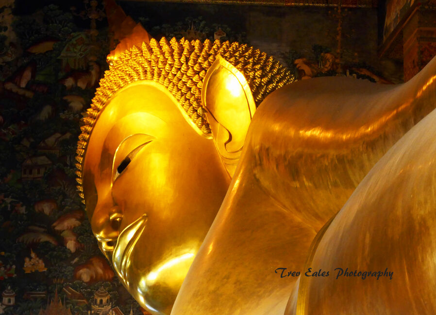 Reclining Buddha, Wat Phra