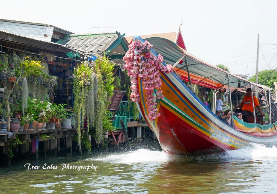 Tourist traffic: Bangkok canals