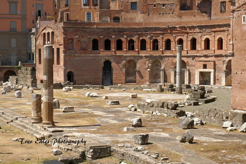 Trajan's Market, Trajan Forum
