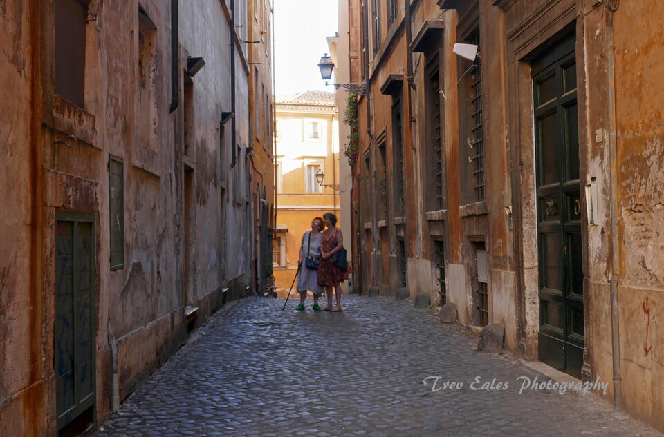 Revisiting the past: Jewish Ghetto, Rome