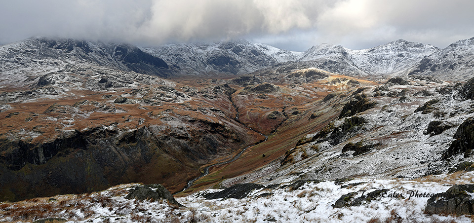 Upper Eskdale in winter