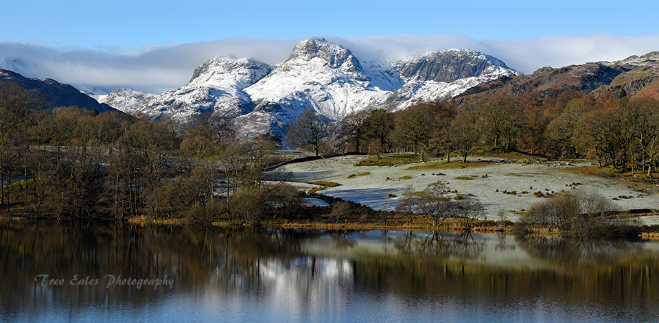Looking across Loughrigg Tarn