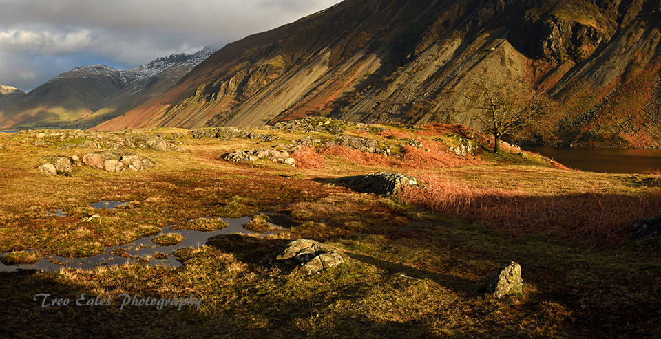 Shadows and light: Wasdale.