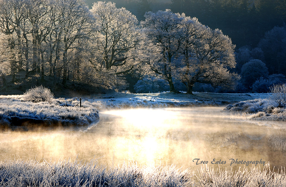 Winter morning, River Brathay