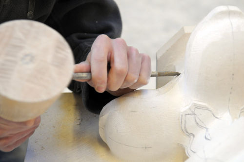 Hand carving a speciality.