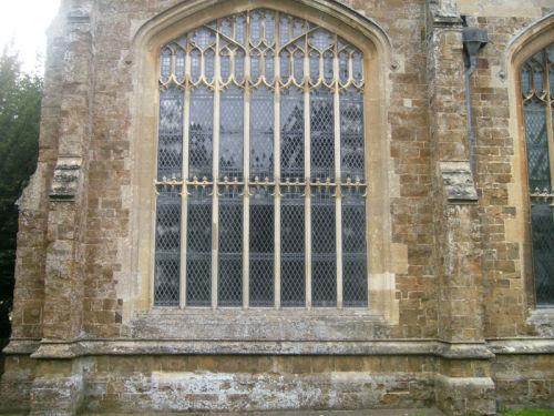 The East window of Bloxham Church.