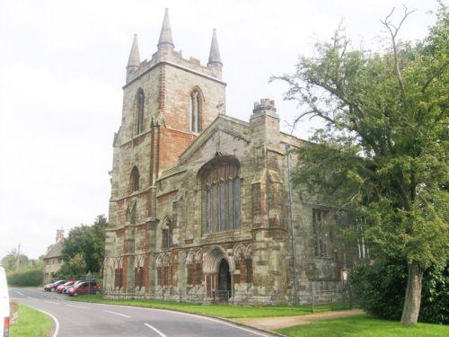 Canons Ashby Church.