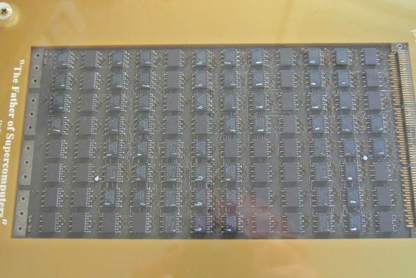 1986 Cray 2 ECL Logic Module