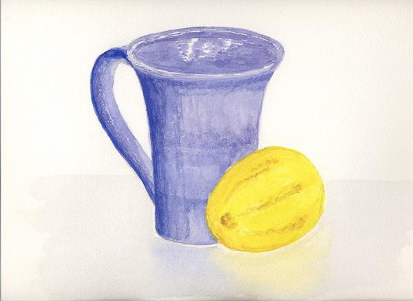 Mug with Lemon